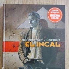 Cómics: EL INCAL EDICIÓN DEFINITIVA NUEVO COLOR ALEJANDRO JODOROWSKY GIRAUD MOEBIUS NORMA EDITORIAL. Lote 191365995