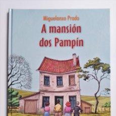 Cómics: MIGUELANXO PRADO A MANSIÓN DOS PAMPÍN 2004 PROXECTOTERRA (EN GALLEGO). Lote 191449310