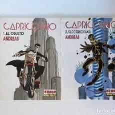 Cómics: CAPRICORNIO 1 Y 2 DE ANDREAS. CIMOC EXTRA COLOR 146 Y 154. NORMA.. Lote 191694077