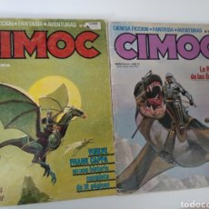 Cómics: CIMOC NÚMEROS 10 Y 16. Lote 191786108
