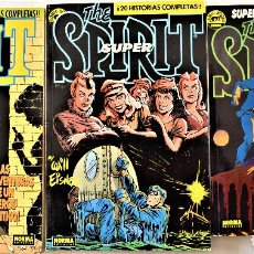 Cómics: THE SPIRIT Nº 2, 6, Y 7 - RETAPADOS - NORMA EDITORIAL - POR WILL EISNER - TAPA BLANDA. Lote 191864895