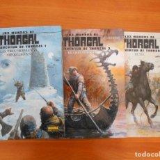Comics: LOS MUNDOS DE THORGAL - LA JUVENTUD DE THORGAL - Nº 1, 2 Y 3 - TAPA DURA - NORMA (CJ). Lote 191884346