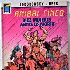 Cómics: COLECCIÓN PANDORA Nº 23 Y 35 - ANIBAL CINCO - JODOROWSKY-BESS - AÑOS 1991 Y 1992. Lote 191910328
