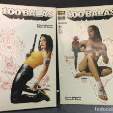 Cómics: 100 BALAS CONTRABANDOLERO! Nº 1,2 COMPLETA AÑO 2002 VERTIGO BRIAN AZZAELLO & EDUARDO RISO NORMA. Lote 192169975