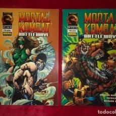 Cómics: MORTAL KOMBAT COLECCION COMPLETA 2 COMICS NORMA. Lote 192173473