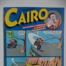 Cómics: CAIRO 28. Lote 192328476