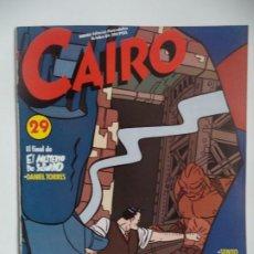 Cómics: CAIRO 29. Lote 192328666
