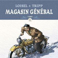 Cómics: CÓMICS. MAGASIN GÉNÉRAL. ED. INTEGRAL 1 - RÉGIS LOISEL/JEAN-LOUIS TRIPP (CARTONÉ). Lote 192522898
