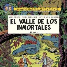 Cómics: CÓMICS. BLAKE Y MORTIMER 26. EL VALLE DE LOS INMORTALES. TOM 2 - SENTE/BERSERIK/VAN DONGEN (CARTONÉ). Lote 235159210