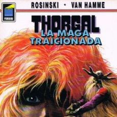 Cómics: THORGAL NUMERO 1 LA MAGA TRAICIONADA POR ROSINSKI Y VAN HAMME. Lote 192563073
