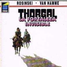 Cómics: THORGAL 19 LA FORTALEZA INVISIBLE POR ROSINSKI Y VAN HAMME. Lote 192564673
