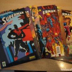 Cómics: SUPERMAN - LOTE DE 13 NÚMEROS - TAPA BLANDA - NORMA - MUY NUEVOS. VER TODAS LAS PORTADAS. Lote 192739737