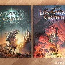 Cómics: LOTE 2 TOMOS LOTHARIO GRIMM - BARTHELEMY / GALLIANO - NORMA - TAPA DURA - MUY BUEN ESTADO - GCH1. Lote 192789940