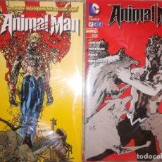 Cómics: ANIMAL MAN NUEVO UNIVERSO DC 1 Y 2 BUEN ESTADO. Lote 192925288
