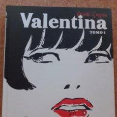 Comics: VALENTINA INTEGRAL TOMO I - CREPAX - NORMA - TAPA DURA - COMO NUEVO. Lote 193005365