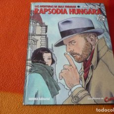 Cómics: LAS AVENTURAS DE MAX FRIDMAN RAPSODIA HUNGARA ( GIARDINO ) TAPA DURA EL CAIRO NORMA. Lote 193584522