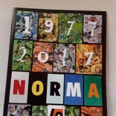 Cómics: DANIEL TORRES - NORMA 40 AÑOS 1977-2017. Lote 193880301
