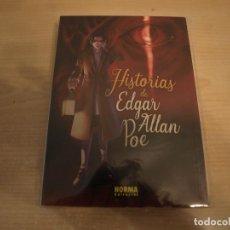 Comics: HISTORIAS DE EDGAR ALLAN POE - CLASICOS MANGA - NORMA - COMO NUEVO. Lote 193960483