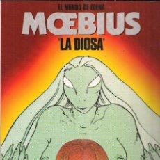 Cómics: MOEBIUS: LA DIOSA. Lote 194003236