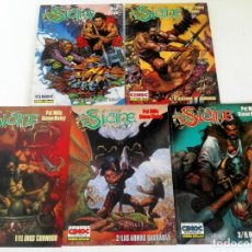 Cómics: SLAINE 5 ÁLBUMES (PAT MILLS & SIMON BISLEY, FABRY Y POWER) - COL. CIMOC EXTRA COLOR. Lote 194146292
