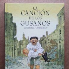 Cómics: LA CANCIÓN DE LOS GUSANOS, POR ÁLEX ROMERO Y LÓPEZ RUBIÑO (NORMA, 2010). COLECCIÓN NÓMADAS N°25.. Lote 194154462