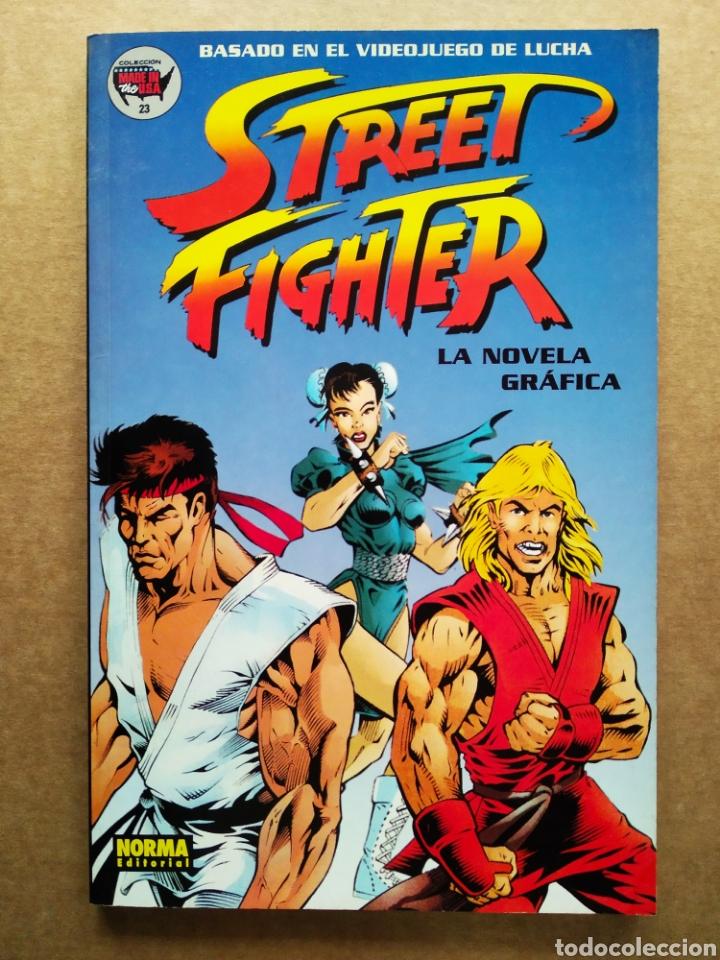 STREET FIGHTER: LA NOVELA GRÁFICA (NORMA, 1995). COLECCIÓN MADE IN USA N°23. (Tebeos y Comics - Norma - Comic USA)