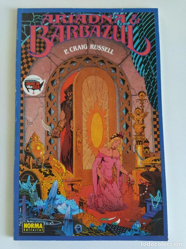 ARIADNA & BARBAZUL (P. CRAIG RUSSELL) - COL. MADE IN THE USA Nº 4 (Tebeos y Comics - Norma - Comic USA)