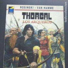 Cómics: THORGAL LOS ARQUEROS. Lote 194158196