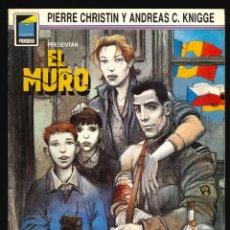 Cómics: COLECCIÓN PANDORA - NORMA / NÚMERO 4 (EL MURO). Lote 194224896