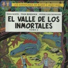 Cómics: LAS AVENTURAS DE BLAKE Y MORTIMER 26: EL VALLE DE LOS INMORTALES 2, 2020, NORMA, IMPECABLE. Lote 194283337