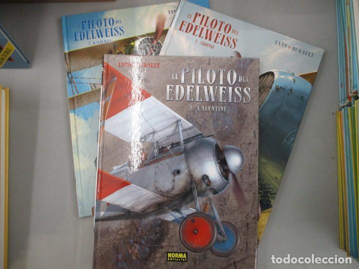 EL PILOTO DE EDELWEISS - COLECCION COMPLETA - YANN Y HUGAULT - NORMA - 3 TOMOS TAPA DURA - NORMA (Tebeos y Comics - Norma - Comic Europeo)