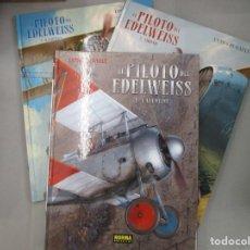 Cómics: EL PILOTO DE EDELWEISS - COLECCION COMPLETA - YANN Y HUGAULT - NORMA - 3 TOMOS TAPA DURA - NORMA. Lote 194514352