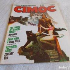 Cómics: CIMOC Nº 57. Lote 194518916