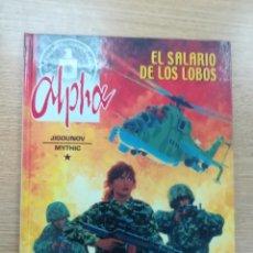 Cómics: ALPHA #3 EL SALARIO DE LOS LOBOS. Lote 194525482