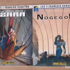Cómics: LAS TIERRAS HUECAS - NORMA EDITORIAL / SERIE COMPLETA DE 2 NÚMEROS (COLECCIÓN PANDORA). Lote 194538657