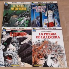 Cómics: EL PAÍS DEL FIN DEL MUNDO - NORMA EDITORIAL / SERIE COMPLETA DE 4 NÚMEROS (COLECCIÓN PANDORA). Lote 194538948