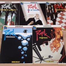 Cómics: RORK - NORMA EDITORIAL / SERIE COMPLETA DE 5 NÚMEROS (COLECCIÓN PANDORA). Lote 194539323