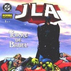 Cómics: JLA: TORRE DE BABEL COMPLETA 2 Nº. NORMA EDITORIAL. Lote 194550817