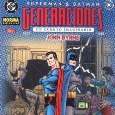 Cómics: SUPERMAN / BATMAN. GENERACIONES COMPLETA 4 Nº. NORMA EDITORIAL. Lote 194552503