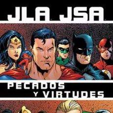 Cómics: JLA / JSA: PECADOS Y VIRTUDES NORMA EDITORIAL. Lote 194552645