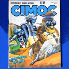 Cómics: CIMOC - Nº 52 - LA REVISTA DE LAS GRANDES AVENTURAS - 1985 - NORMA EDITORIAL - ORIGINAL. Lote 194569027