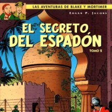 Cómics: LAS AVENTURAS DE BLAKE Y MORTIMER. EL SECRETO DEL ESPADON. TOMO 2. EDGAR P. JACOBS. NORMA, 2004. Lote 194583453