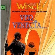 Cómics: LARGO WINCH. Nº 9. VER VENECIA. PHILIPPE FRANCQ - JEAN VAN HAMME. NORMA, 2004. 1ª EDICION. Lote 194586043