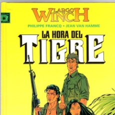 Cómics: LARGO WINCH. Nº 8. LA HORA DEL TIGRE. PHILIPPE FRANCQ - JEAN VAN HAMME. NORMA, 2004. 1ª EDICION. Lote 194586181