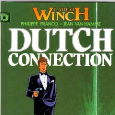 Cómics: LARGO WINCH. Nº 6. DUTCH CONNECTION. PHILIPPE FRANCQ - JEAN VAN HAMME. NORMA, 2006. Lote 194586398