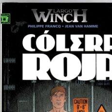 Cómics: LARGO WINCH. Nº 18. COLERA ROJA. PHILIPPE FRANCQ - JEAN VAN HAMME. NORMA, 2013. 1ª EDICION. Lote 194586506