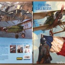 Cómics: EL PILOTO DEL EDELWEISS. Nº 3. WALBURGA. YANN - HUGAULT. NORMA, 2015. 1ª EDICION. Lote 194661300