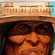 Comics: MISTER BLUEBERRY. Nº 38. GERONIMO EL APACHE. CHARLIER - GIRAUD. NORMA, 2000. 1ª EDICION. Lote 194665440