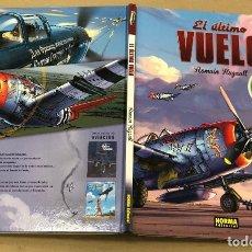 Cómics: EL ULTIMO VUELO. ROMAIN HUGAULT. NORMA, 2014. 2ª EDICION. Lote 194687811