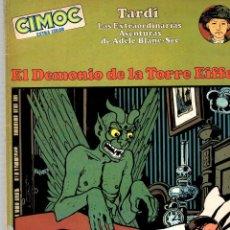 Cómics: EL DEMONIO DE LA TORRE EIFFEL. CIMOC EXTRA COLOR. JACQUES TARDI. NORMA, 1981. Lote 194696595